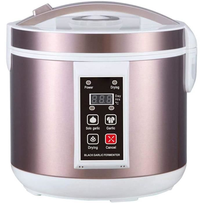 CUISEUR A RIZ go 5L Fermenteur Dail Noir Entiegraverement Automatique Controcircle Intelligent Ail Maker Santeacute Alimentaire 116