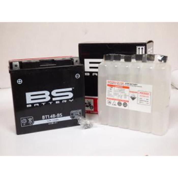 Batterie BS Batterie moto Yamaha 1300 XJR 1999 - 2013 YT14B-BS