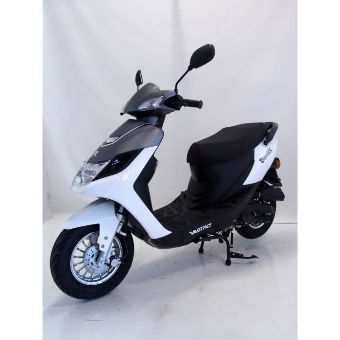 VASTRO Scooter 50 STREET-X - 50cc - Blanc et gris