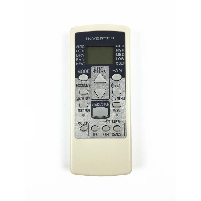 CASEINO® Télécommande de climatisation Fujitsu AR-RCD1C RCE1C GSA35LKC GSA26LKC