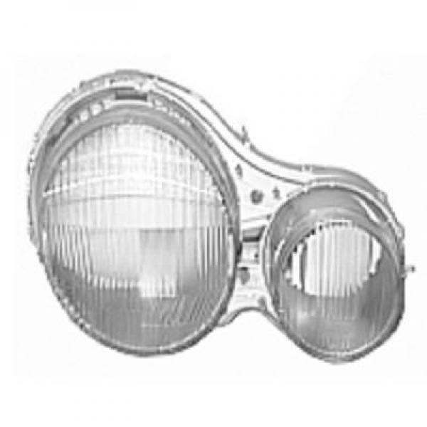 Disperseur simple pour phare droit pas pour xénon MERCEDES CLASSE E (W210) de 95 à 99