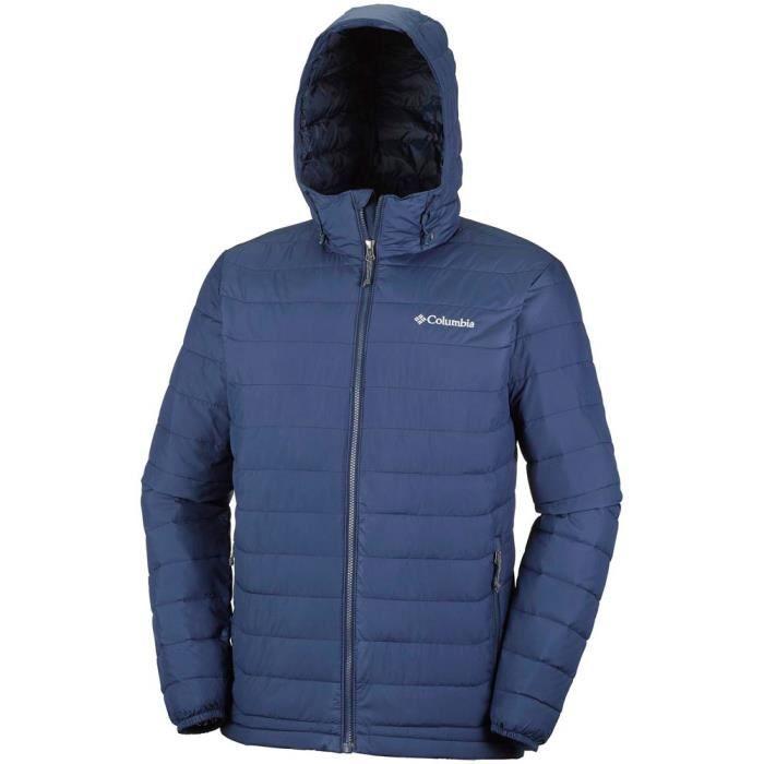 Vêtements homme Vestes isolées Columbia Powder Lite Hooded