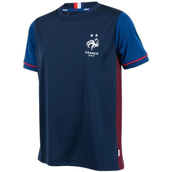 Maillot FFF - 2 étoiles - Collection officielle Equipe de France de Football- Homme