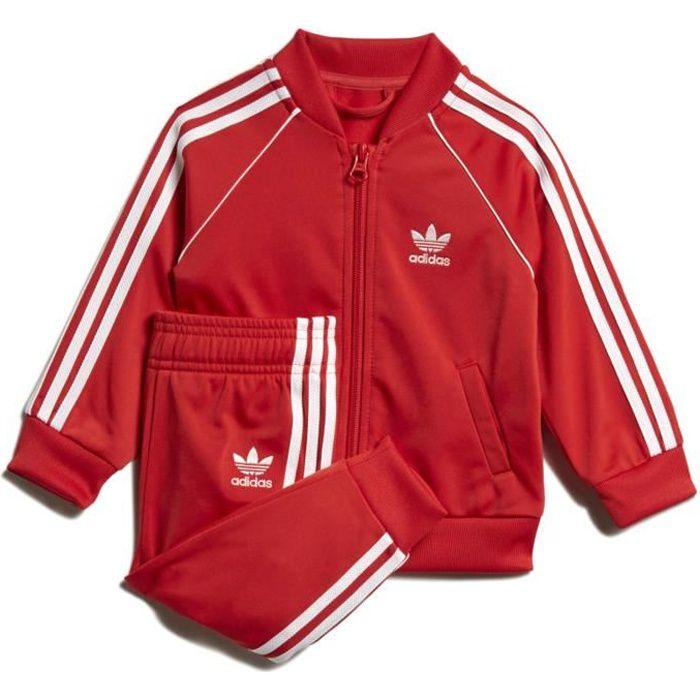 Adidas - Tuta rosso FM5585