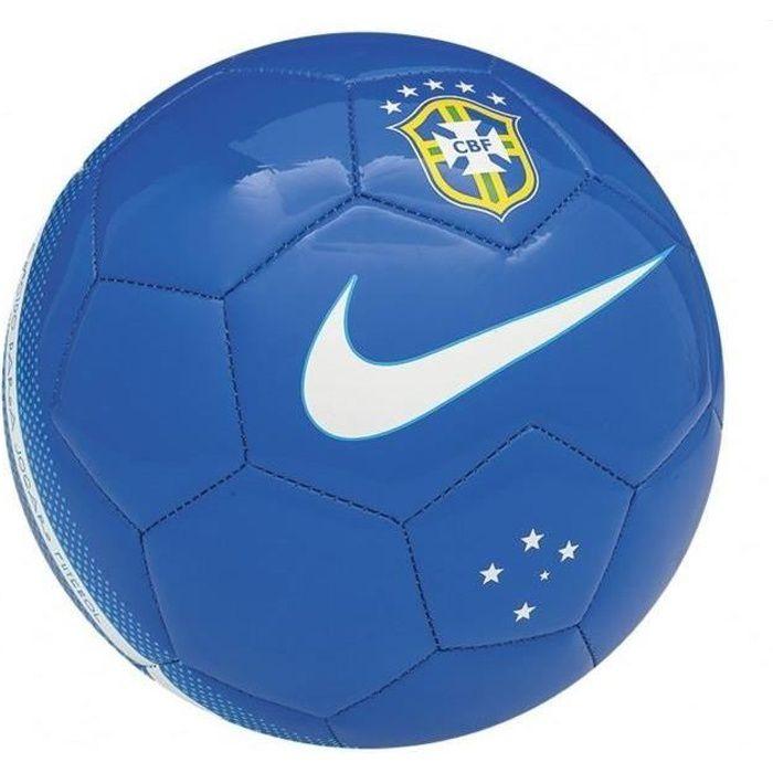 Ballon Bleu Nike Brésil Taille 5