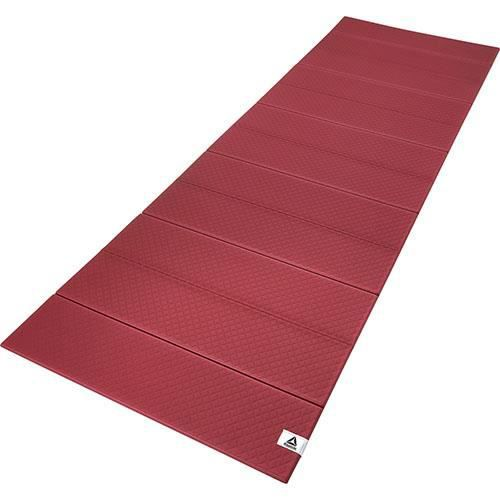Reebok tapis de yoga pliable 6mm bordeaux