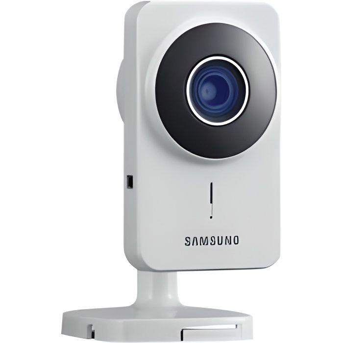 SAMSUNG Caméra de surveillance IP Smartcam intérieure fixe à vision nocturne SNH-1011NV/EX