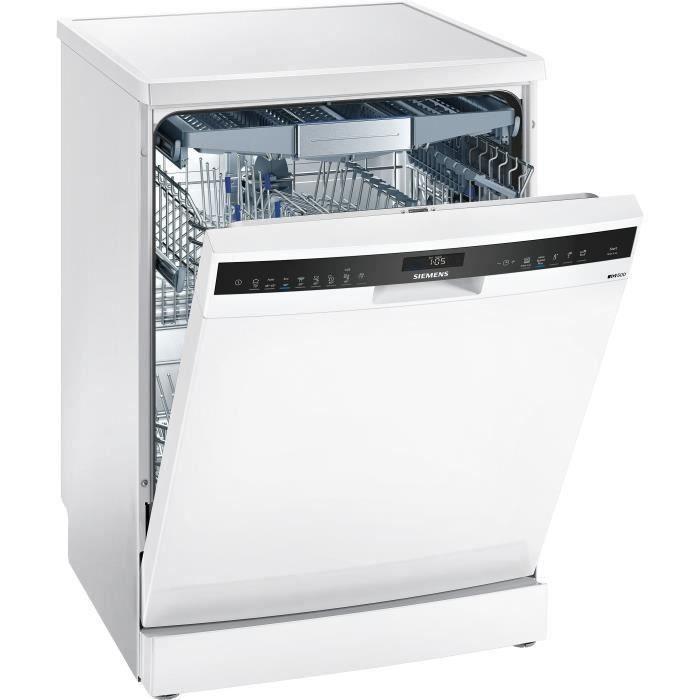 SIEMENS SN258W00TE lave-vaisselle pose libre - 14 couverts - 40 dB - Classe A+++ - largeur 60 cm - Blanc