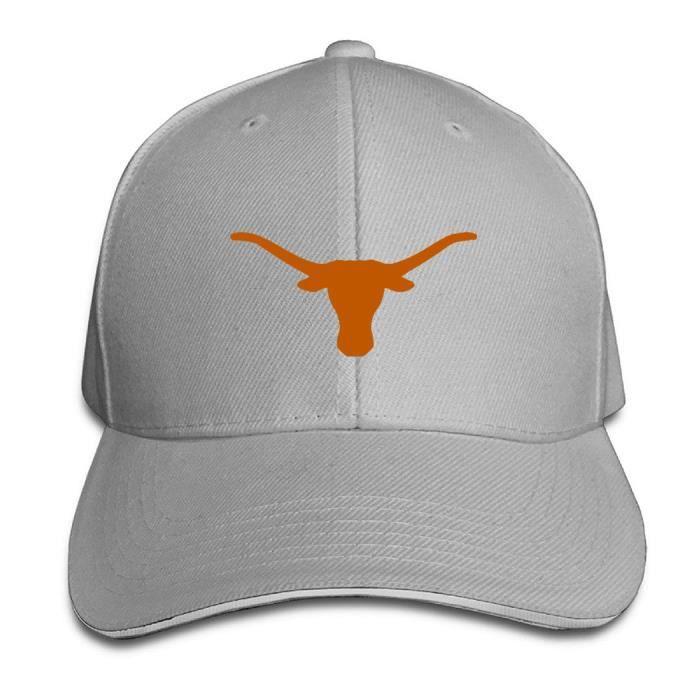TEXAS Texas Casquette De Baseball Noir /& Orange NOUVEAU