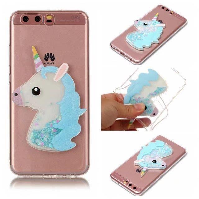 coque iphone 6 plus licorne bleu miroirs pierres