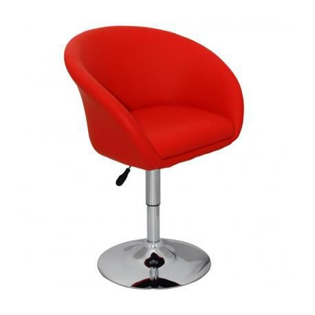 fauteuil pivotant rond achat vente tabouret de bar rouge cdiscount. Black Bedroom Furniture Sets. Home Design Ideas