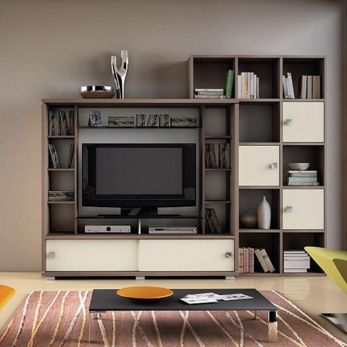 meuble mural tv design glamos achat vente meuble tv meuble mural tv design glamos cdiscount. Black Bedroom Furniture Sets. Home Design Ideas