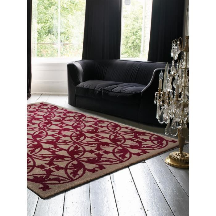 benuta tapis kaleido fuchsia 240x340 cm achat vente tapis cdiscount. Black Bedroom Furniture Sets. Home Design Ideas