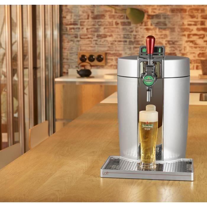 MACHINE A BIÈRE  Tireuse à bière Compatible fûts 5 L Chrome