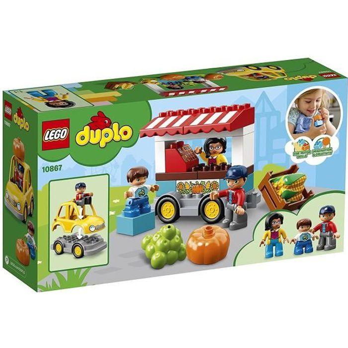 ASSEMBLAGE CONSTRUCTION LEGO® DUPLO® Ma ville 10867 Le marché de la ferme