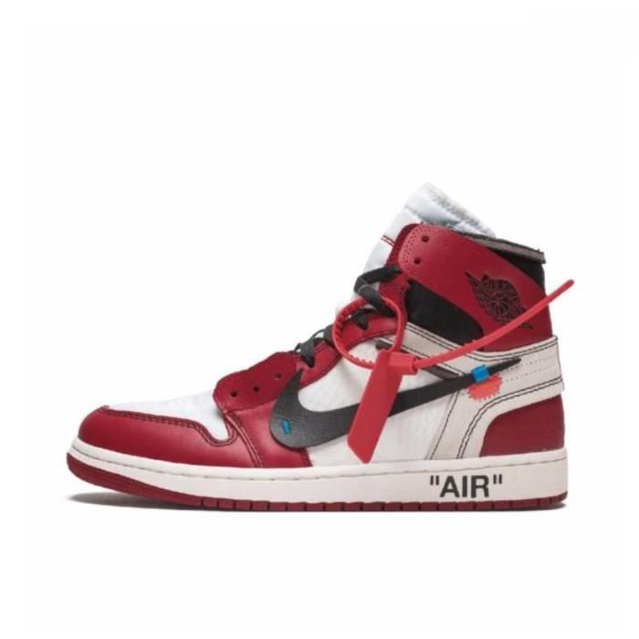 AJ 1 Air Jordan 1 Retro High Off White Chicago Chaussures