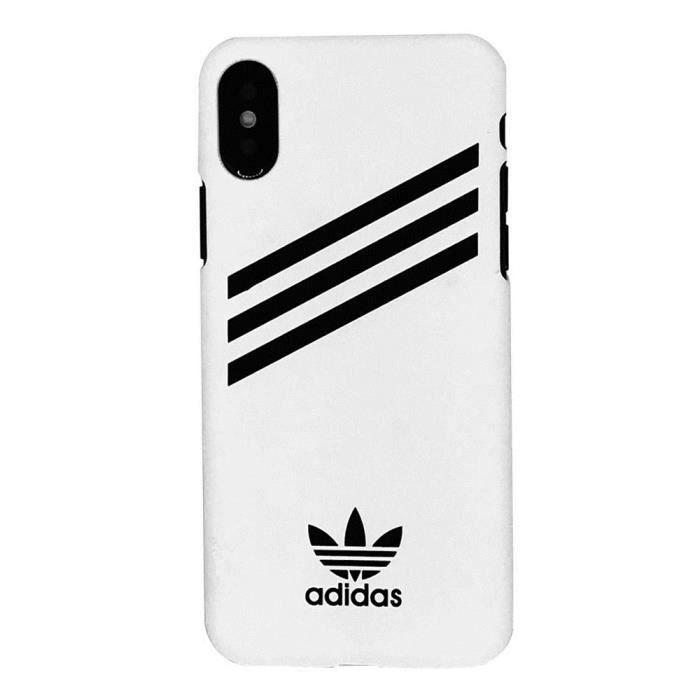 Adidas Coque iPhone X Blanc