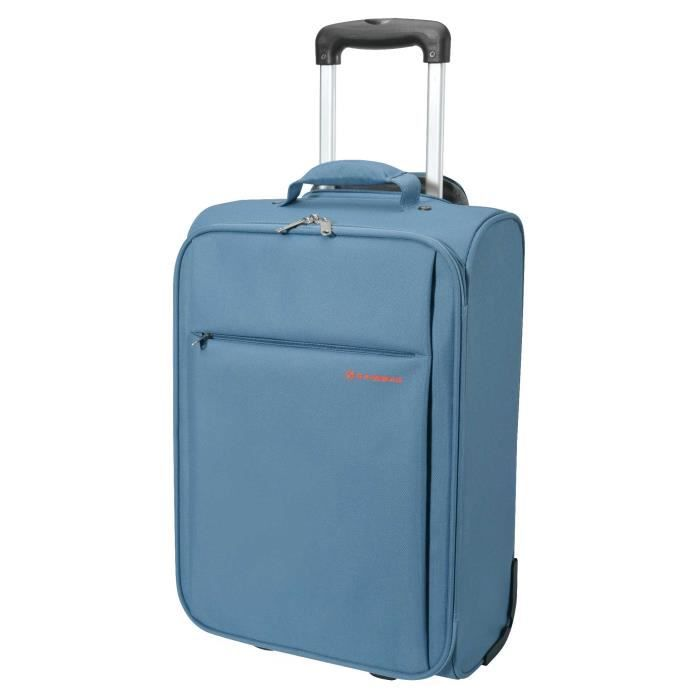 VALISE - BAGAGE VALISE CABINE PLUME Blleu format Low Cost