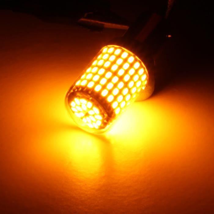 Haute puissance inverse Ampoule COB DEL BA15S 1156 382 12 V 24 V-pour Citroen C5 04-08