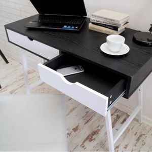 bureau blanc scandinave achat vente pas cher. Black Bedroom Furniture Sets. Home Design Ideas