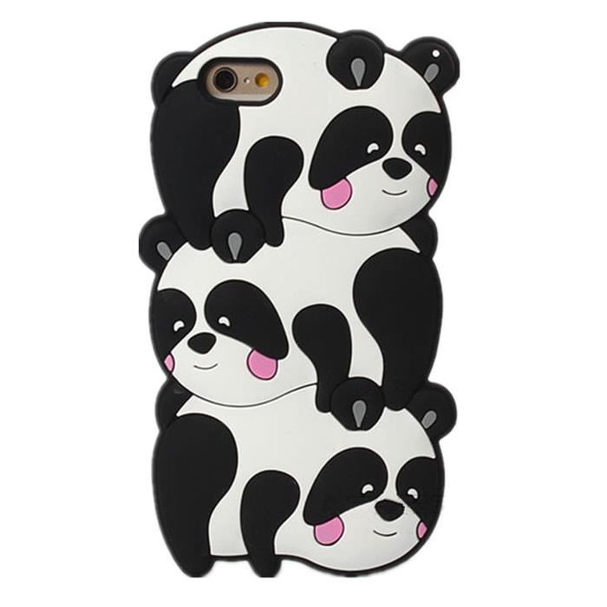 coque iphone 6 3d silicone panda