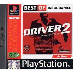 CONSOLE PS1 DRIVER 2 Best of infogrames