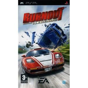 JEU PSP BURNOUT LEGENDS