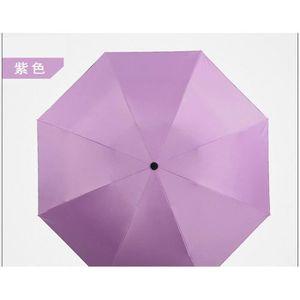 PARAPLUIE Parapluie pliant automatique, revêtement anti-ultr
