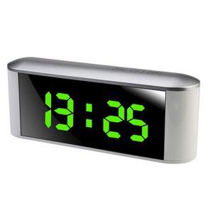 RÉVEIL SANS RADIO Horloge électronique multifonctionnelle facile de