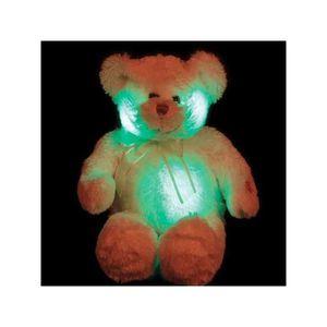 PELUCHE Ours en peluche lumineux: Voici un ours en peluche