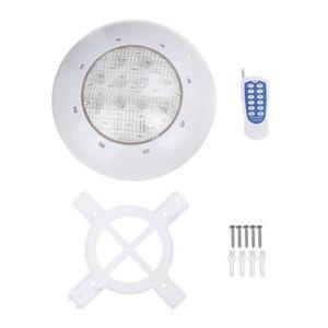 PROJECTEUR - LAMPE TEMPSA 80W RGB Projecteur LED Piscine Lampe Lumièr