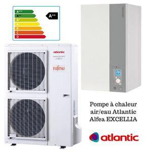 POMPE À CHALEUR Alfea excellia 14 TRI 400V 14 Kw Atlantic pompe a