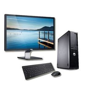 ORDI BUREAU RECONDITIONNÉ Dell Optiplex 780 - Core Duo 2,60 GHz + Ecran 22''