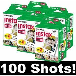 PACK ACCESSOIRES PHOTO Fujifilm Instax Mini Film - Lot de 5x 20 films pou