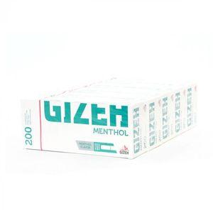 TUBE À CIGARETTE Lot de 5 Boîtes de 200 Tubes à Cigarettes Menthol