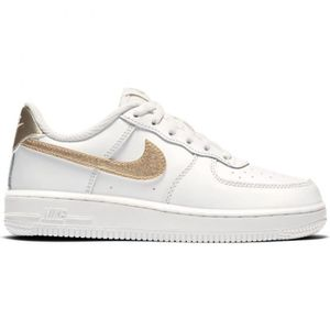 BASKET  BASKETS ENFANT NIKE AIR FORCE 1 (PS) (BLANC