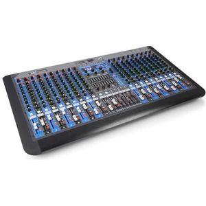 TABLE DE MIXAGE Power Dynamics PDM-S2004 Table de mixage DJ 20 can