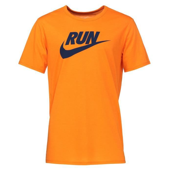 t shirt running homme nike