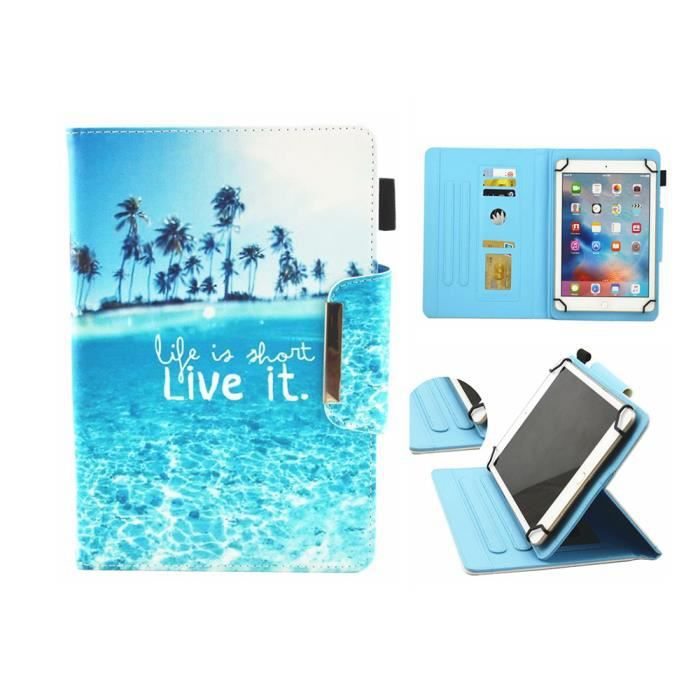 Etui de Protection Tablettes Housse Coque pour ARCHOS Tablette tactile Access 101 3G 10,1- + Stylet