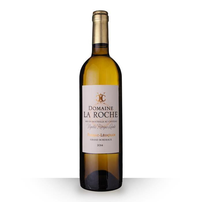 Domaine la Roche 2014 Blanc 75cl AOC Pessac-Léognan - Vin Blanc