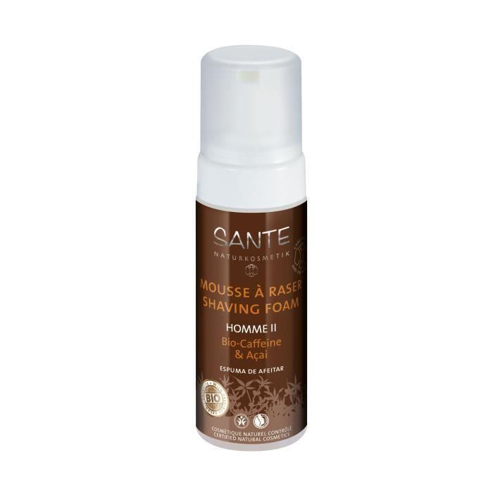 SANTE Mousse à raser Caféine et Açaï - Homme II - 150 ml