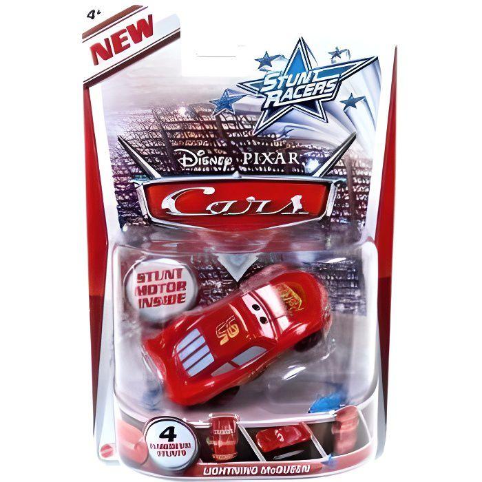 Voiture Disney Cars Deluxe Stunt Racers Flash Mcqueen V?hicule Miniature