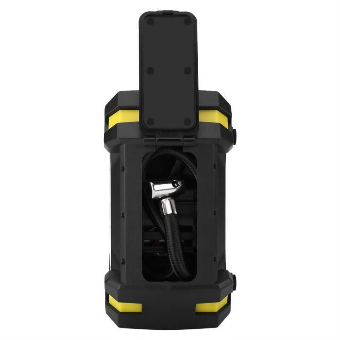 Compresseur d'air électrique de pompe de gonfleur de pneu de voiture de Digital de 12V 100 PSI pour la boule de vélo de voiture