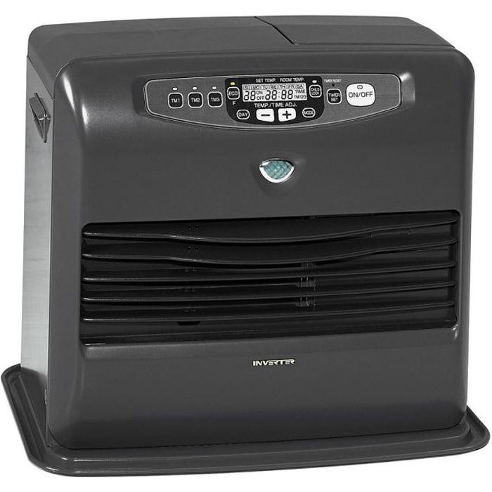 INVERTER 5747 3200 watts Poêle à pétrole électronique -Fonction ECO, -Odorless System- - Sécurité enfant - NF