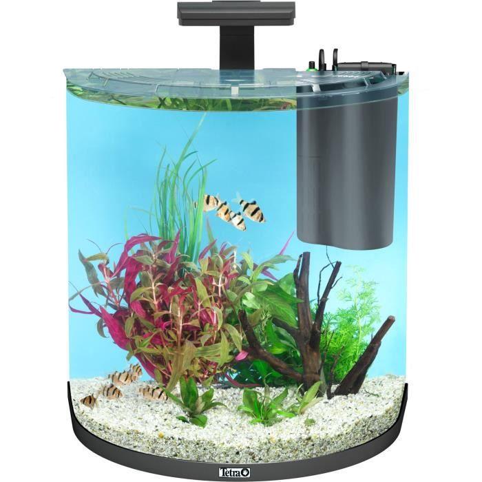 TETRA AquaArt Explorer Line Aquarium Set 60 L - Noir - Pour poisson