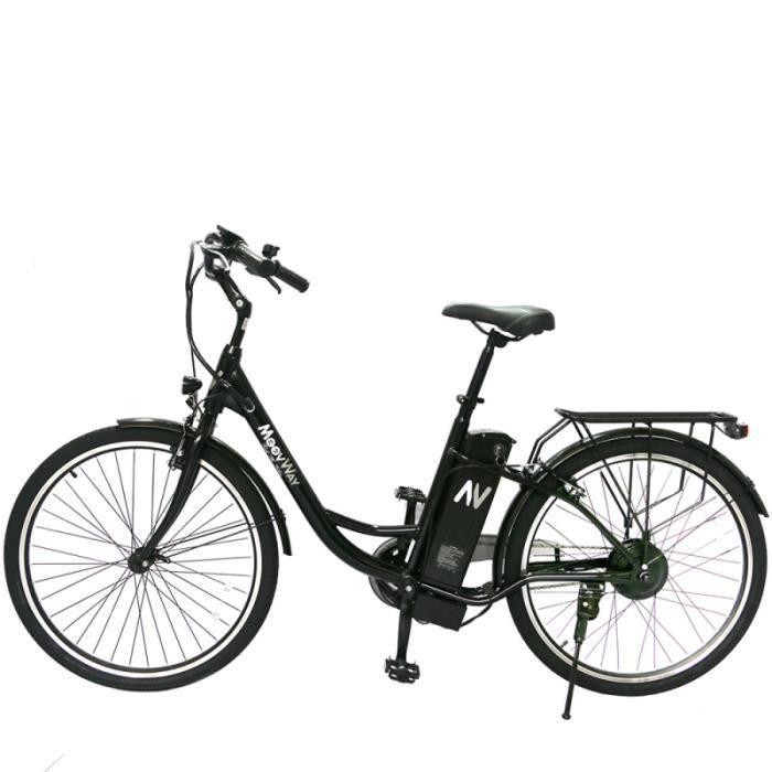 Vélo VAE à assistance électrique pour femme batterie extractible lihium