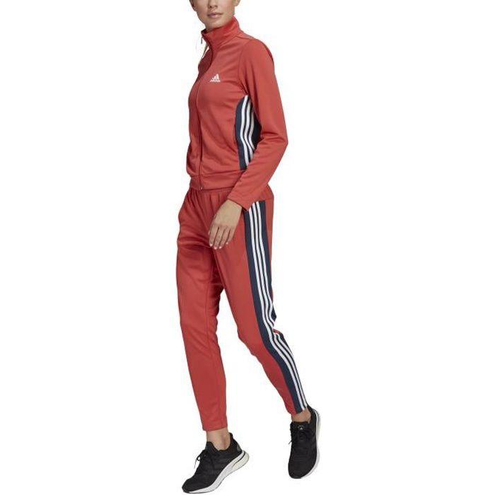Adidas Survêtement pour Femme Team Sports Rouge