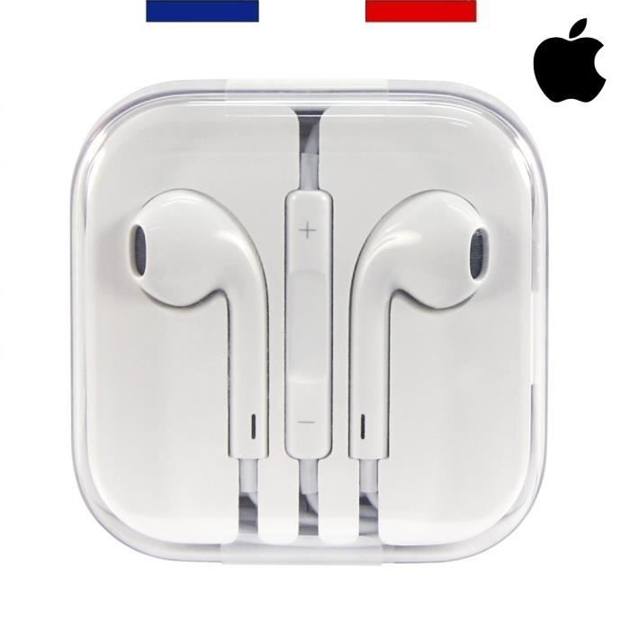 apple earpods ecouteurs iphone 6 authentiques compatibles avec iphone6 ipad et ipod achat. Black Bedroom Furniture Sets. Home Design Ideas