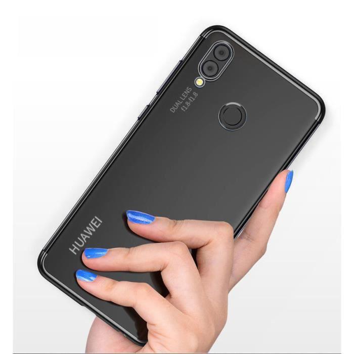 Coque Huawei P20 Lite Transparent Mince silicone TPU Souple Etui ...