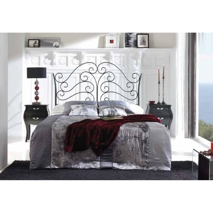 t te de lit en fer forg mod le strasbourg achat vente t te de lit cadeaux de no l. Black Bedroom Furniture Sets. Home Design Ideas